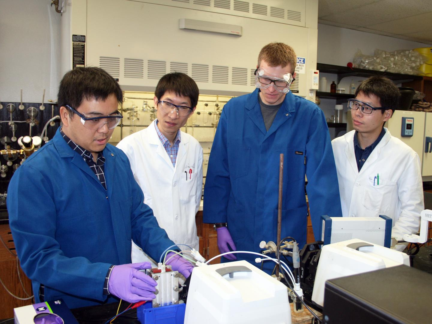 Two Better Than One: USU Chemists Advance Sustainable Battery Technology