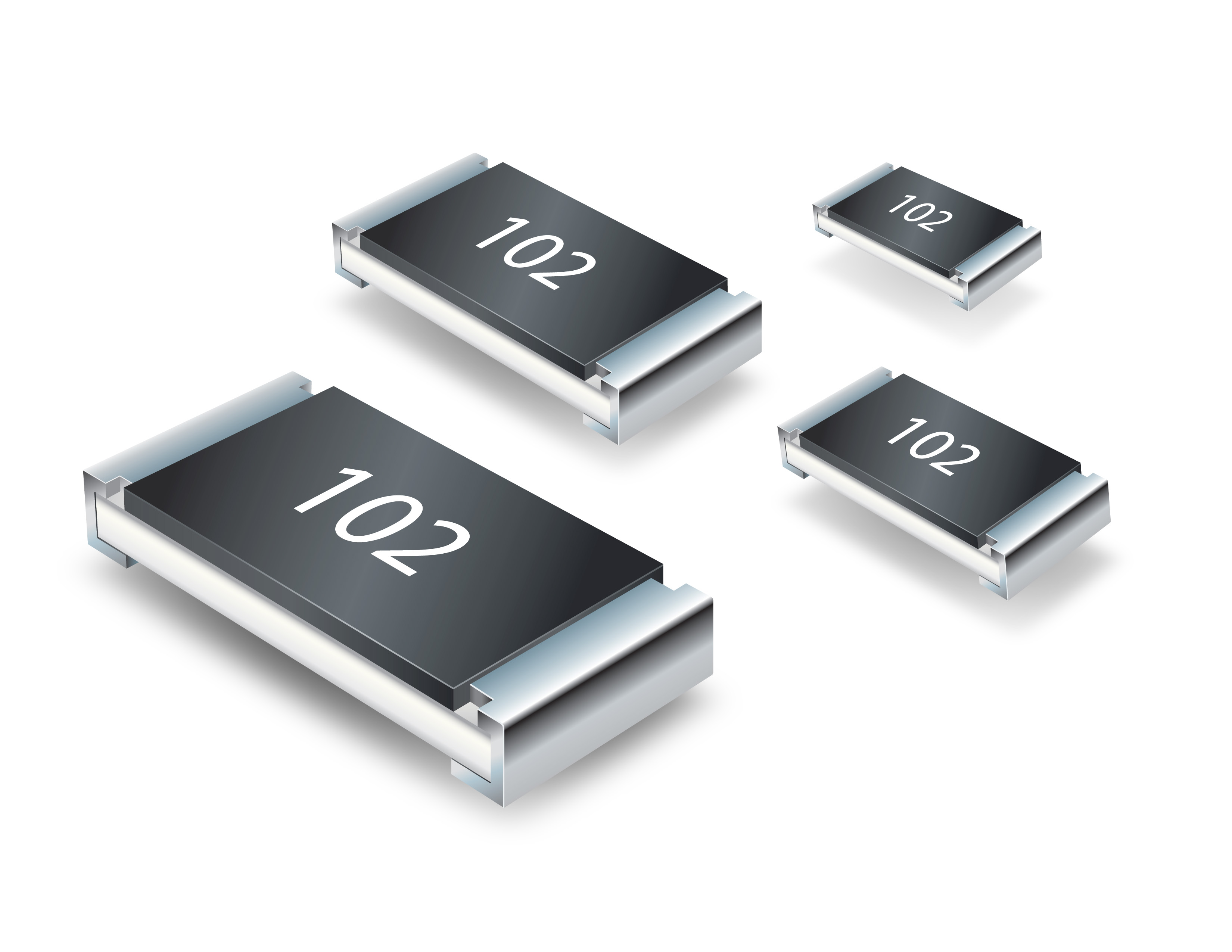 Ultra-Low Lead Content Thick Film Chip Resistors Offer Enhanced Reliability and Stability