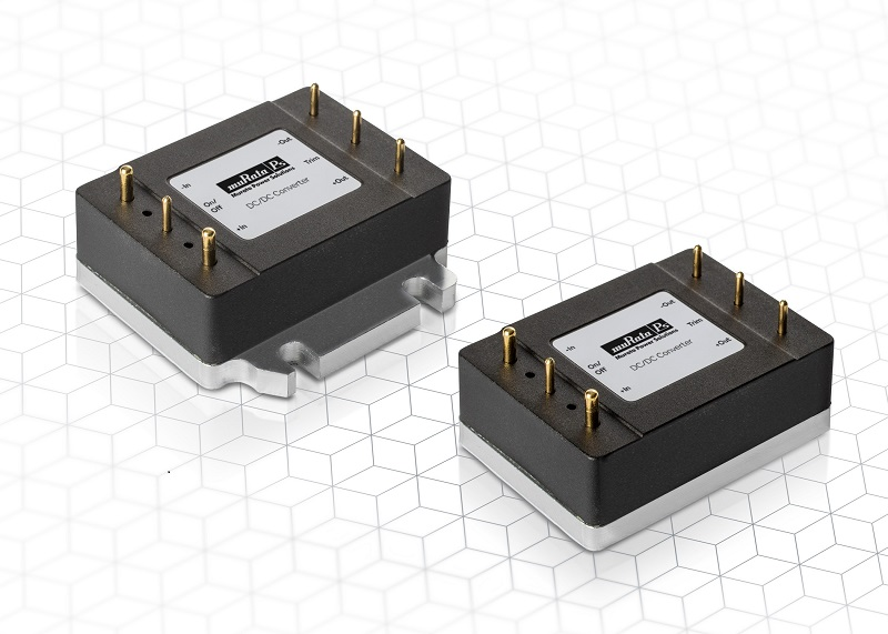 Murata launches ultra-efficient 1/16th brick DC/DC converters for industrial and railway applications