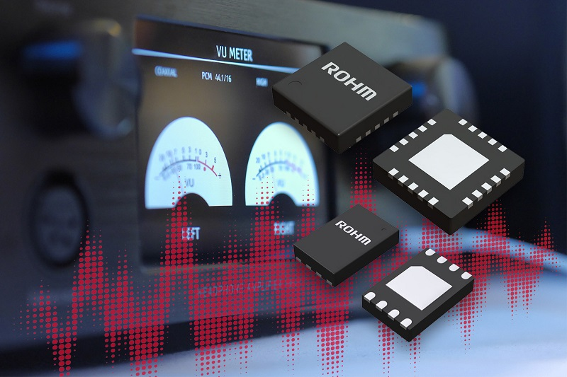 ROHM announces Industry's First Power Supply ICs for Hi-Fi Audio