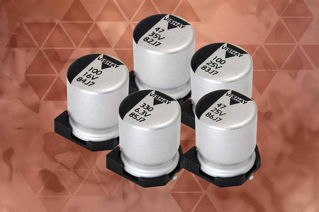 Conductive and Hybrid Conductive Aluminum Polymer Capacitors Save PCB Space and Lower Costs