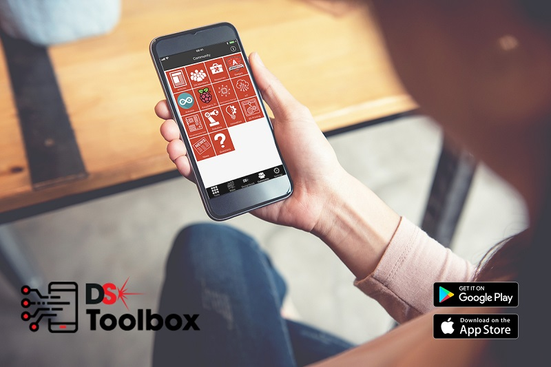 New DesignSpark Toolbox app from RS Components available on iOS, Android and Windows