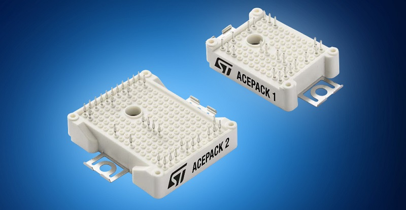 STMicroelectronics' ACEPACK IGBT Modules, Now at Mouser, Deliver Highly Integrated Power Conversion Up to 30kW