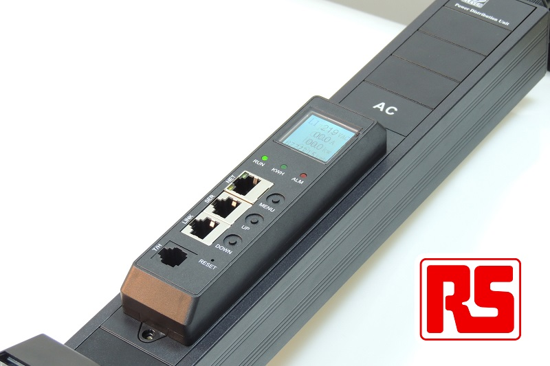 RS Components delivers flexible, cost-effective rack power with modular RS Pro PDUs featuring power management options