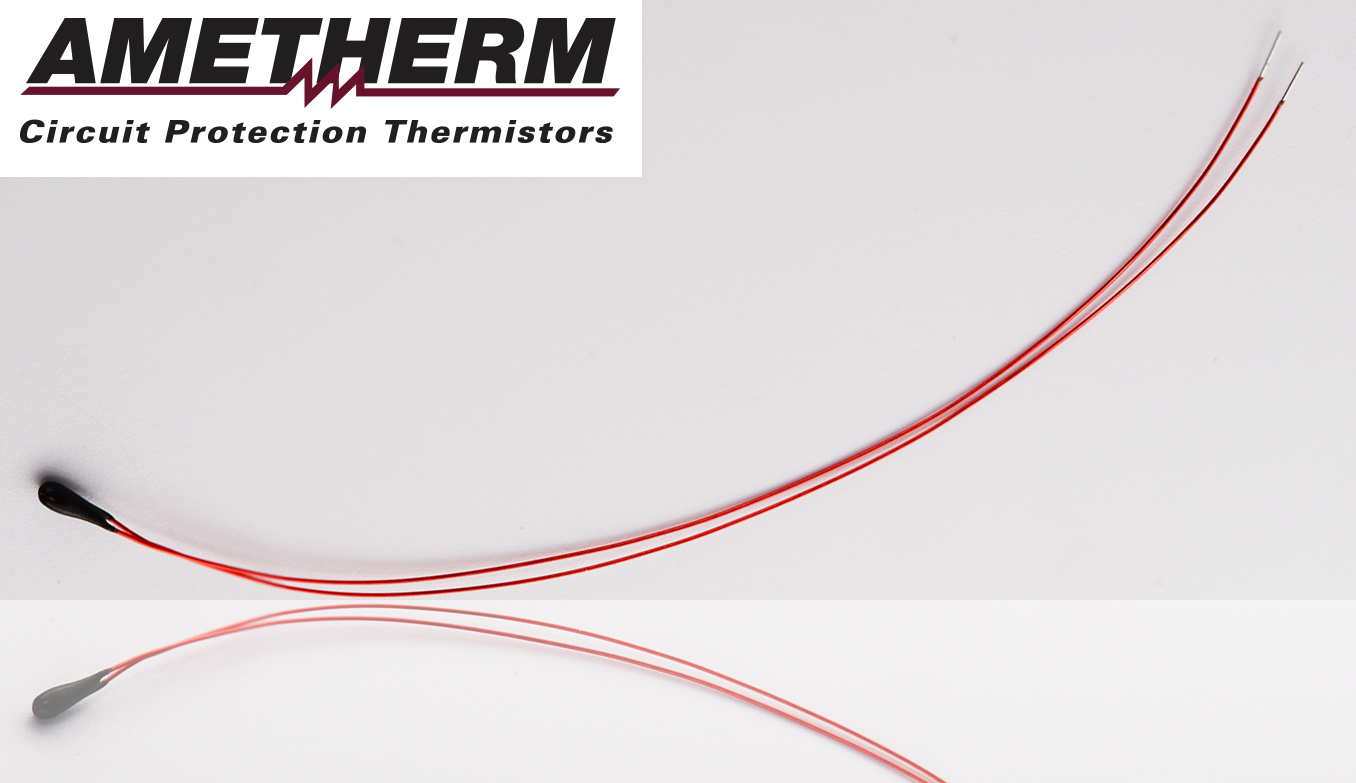 Interchangeable NTC Thermistors Feature Insulated Tinned-Copper Leads