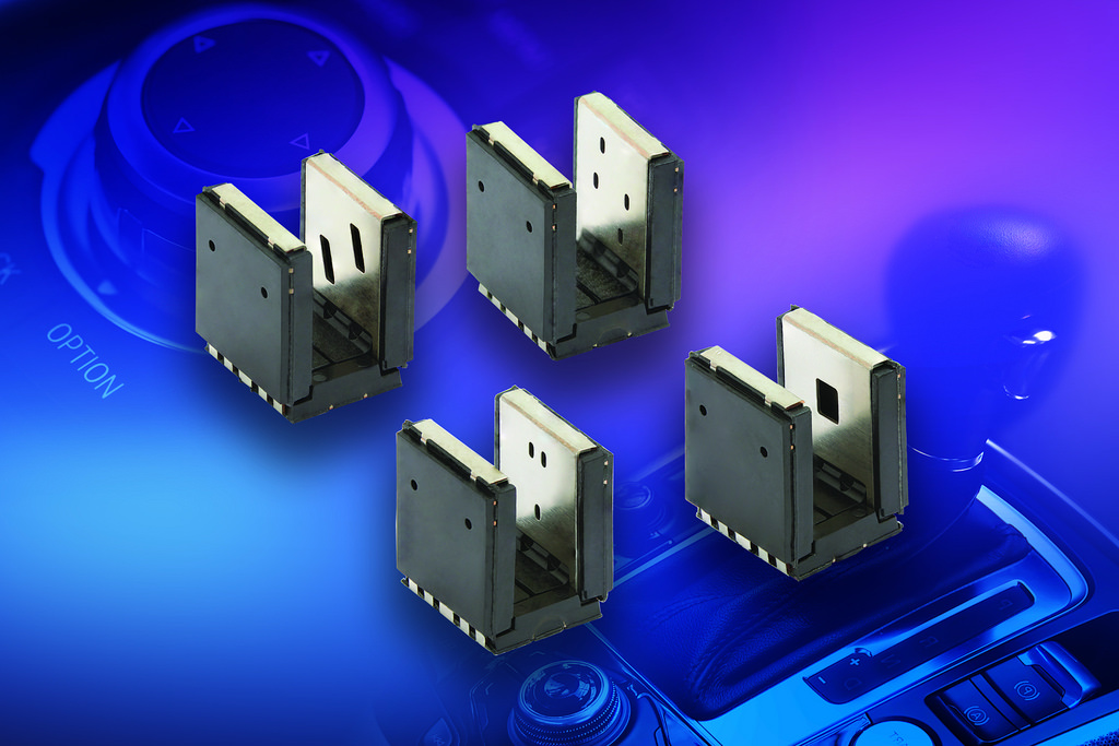 AEC-Q101-Qualified 3- and 4-Channel Optical Sensors Designed for Turn and Push, Absolute, and Incremental Encoding