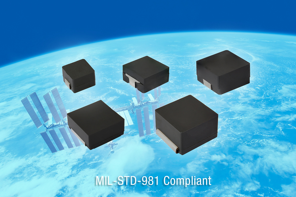 The Industry's First Inductor Series Qualified to MIL-STD-981 Class S for Space-Grade Applications