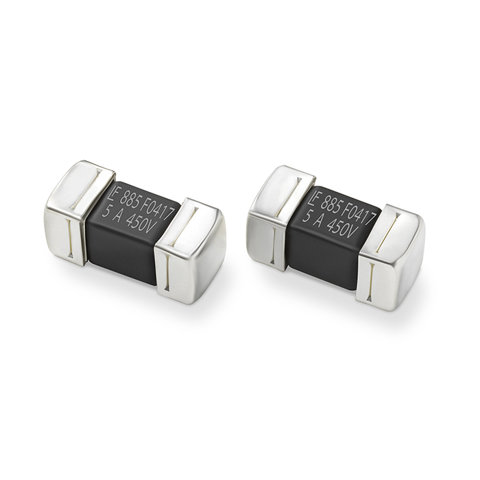 500VDC SMD Fuse Optimized for Electric Vehicle Applications Offers Short-Circuit Protection Up to 1500A