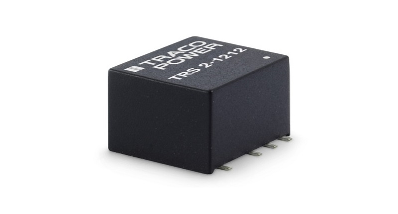 TRACO POWER's smallest 2 Watt SMD DC/DC converter