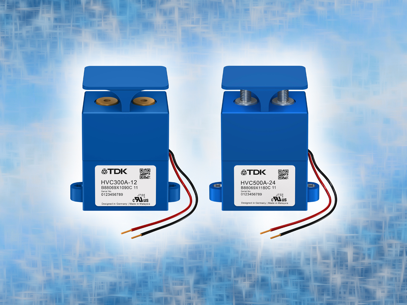 Portfolio of High-Voltage Contactors Extended for High Current Capabilities up to 500 A