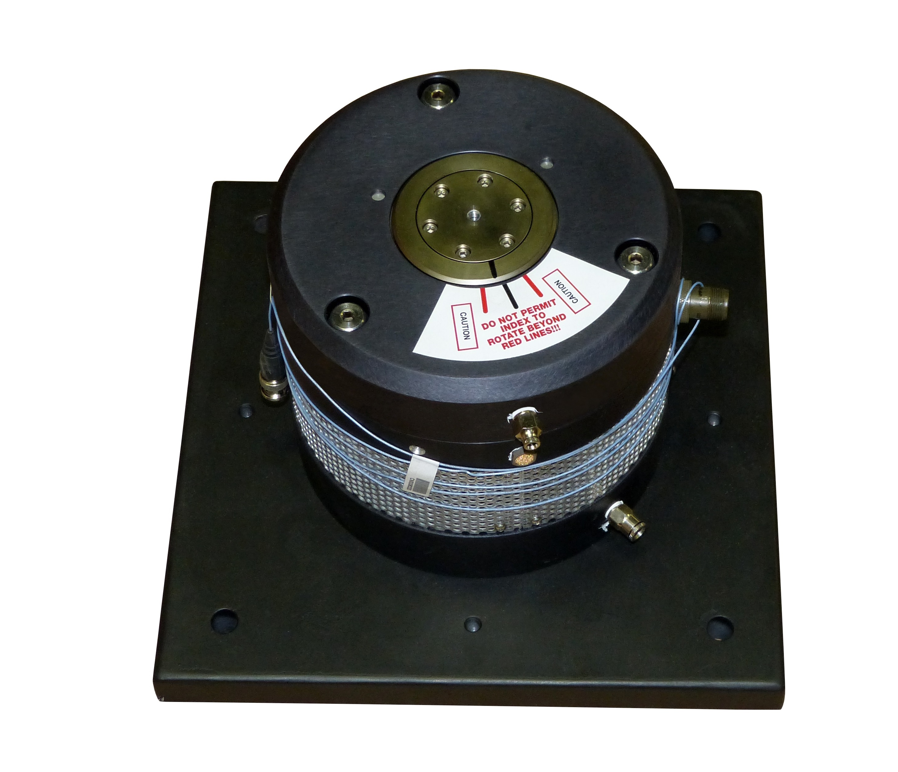 High-Frequency Air Bearing Vibration Exciter Intended for High-Volume Accelerometer Calibrations and Sensor Quality Assurance Testing