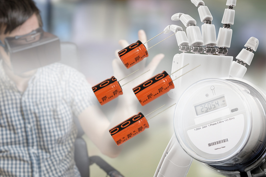 Energy Storage Capacitors Provide Long Life and High Moisture Resistance