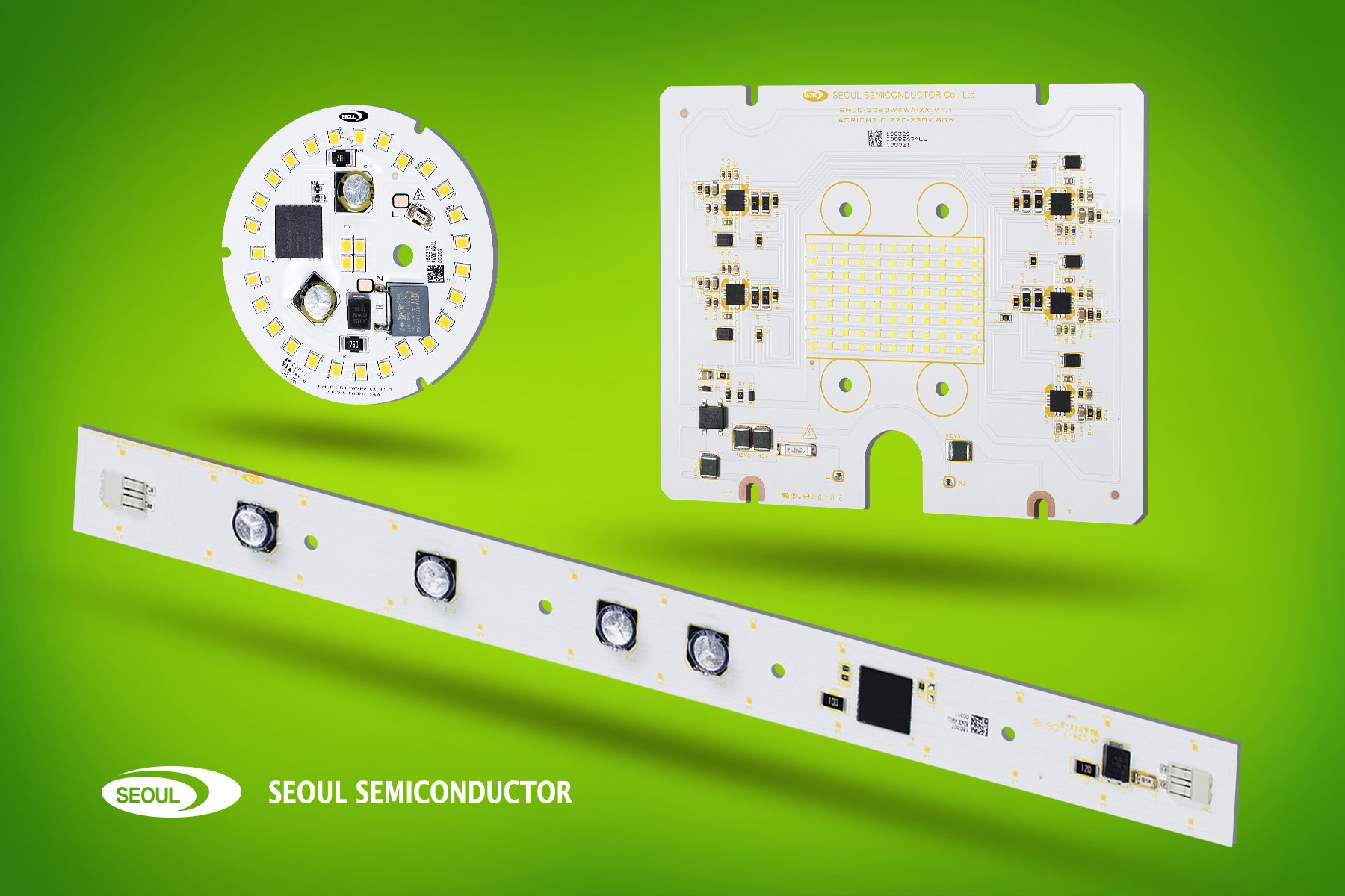 AC LED Modules Offered in Designs From 200 to 10,000 Lumens