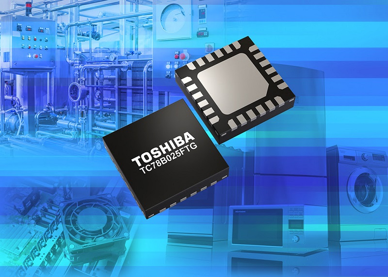 Toshiba releases new three-phase brushless fan motor driver IC