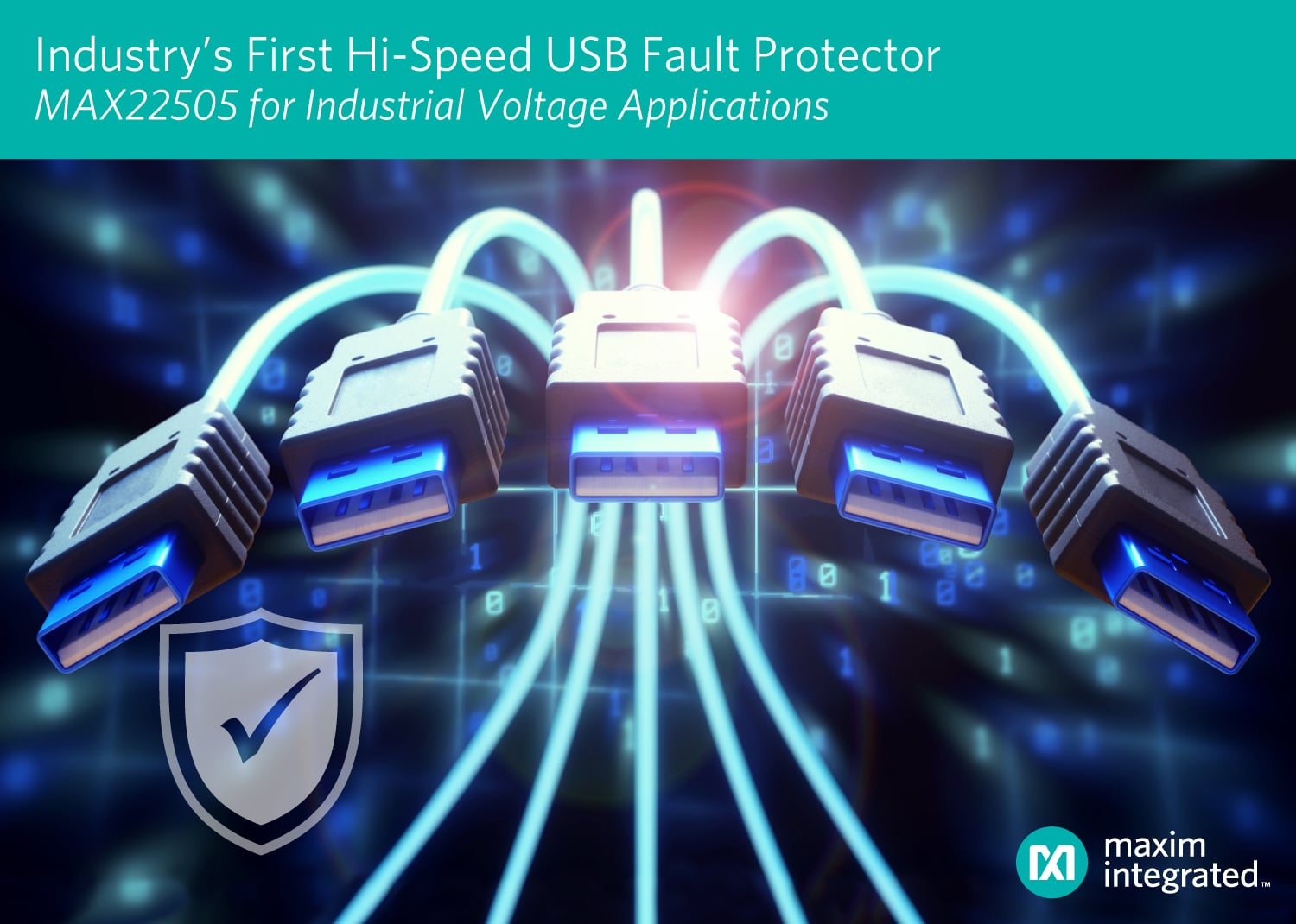 The Industry's First True Fault Protection Solution for High-Speed USB Ports and Industrial Voltage Applications