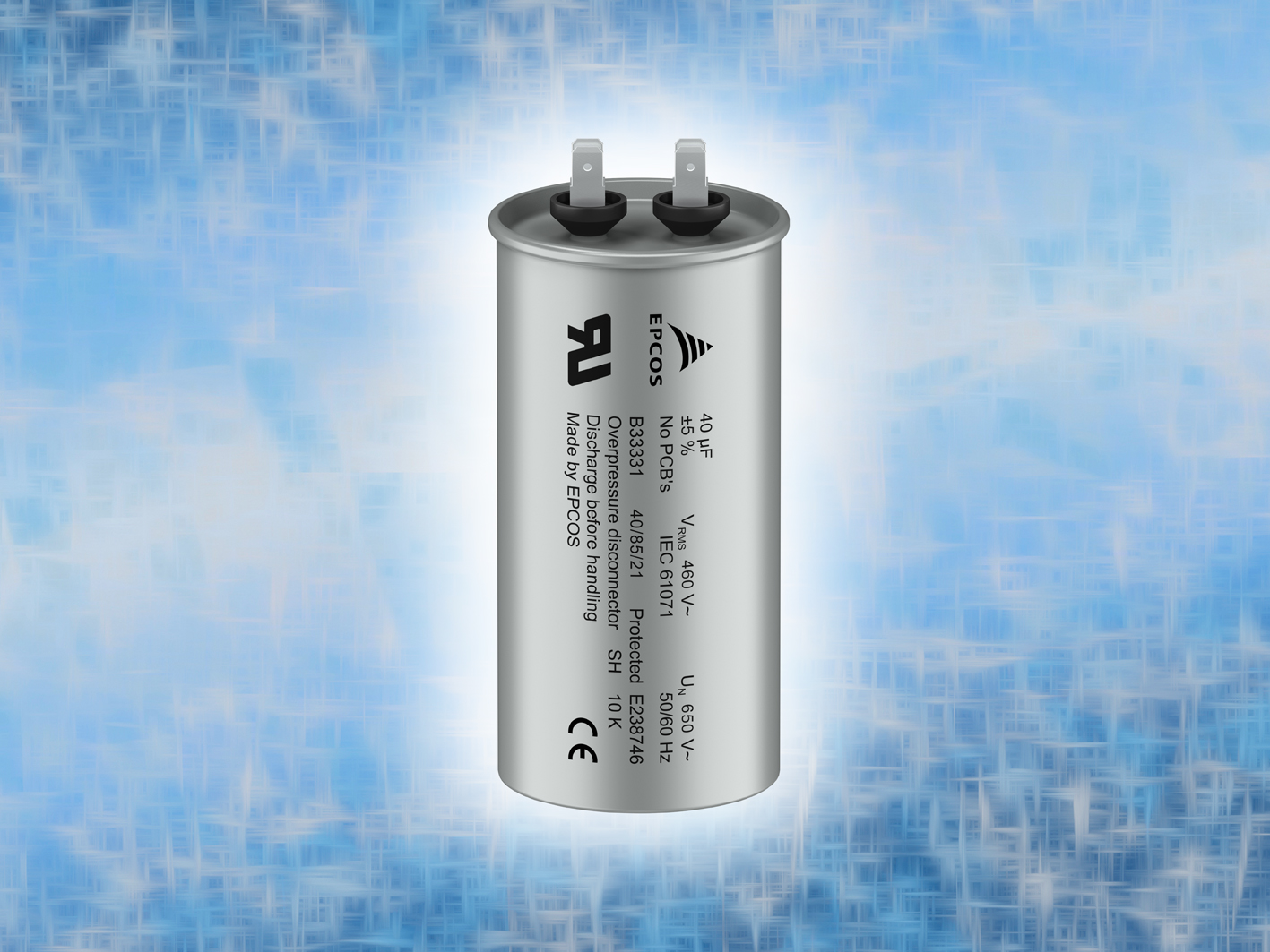 AC Filter Capacitors Include a Peak Voltage of 650 V
