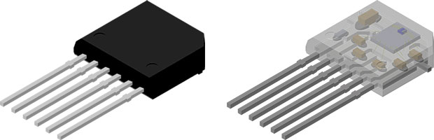 TMR Angle Sensor in a TO-6 Package Designed for PCB-Less Applications