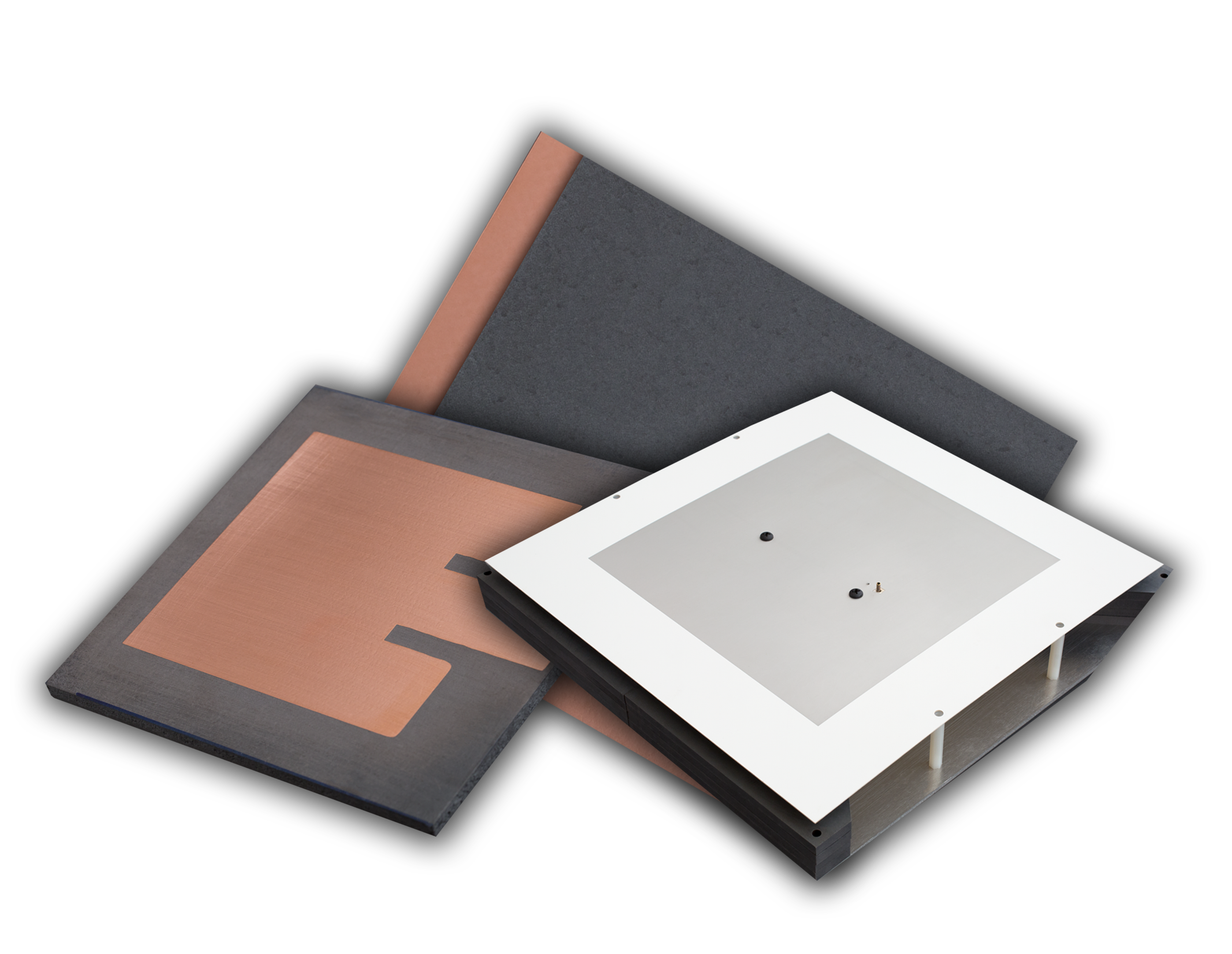 High-Impedance Laminates Feature High Permeability and Permittivity