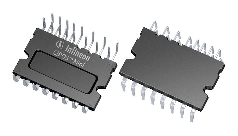 Infineon's CIPOS Mini IPMs deliver higher efficiency in low power motor drives
