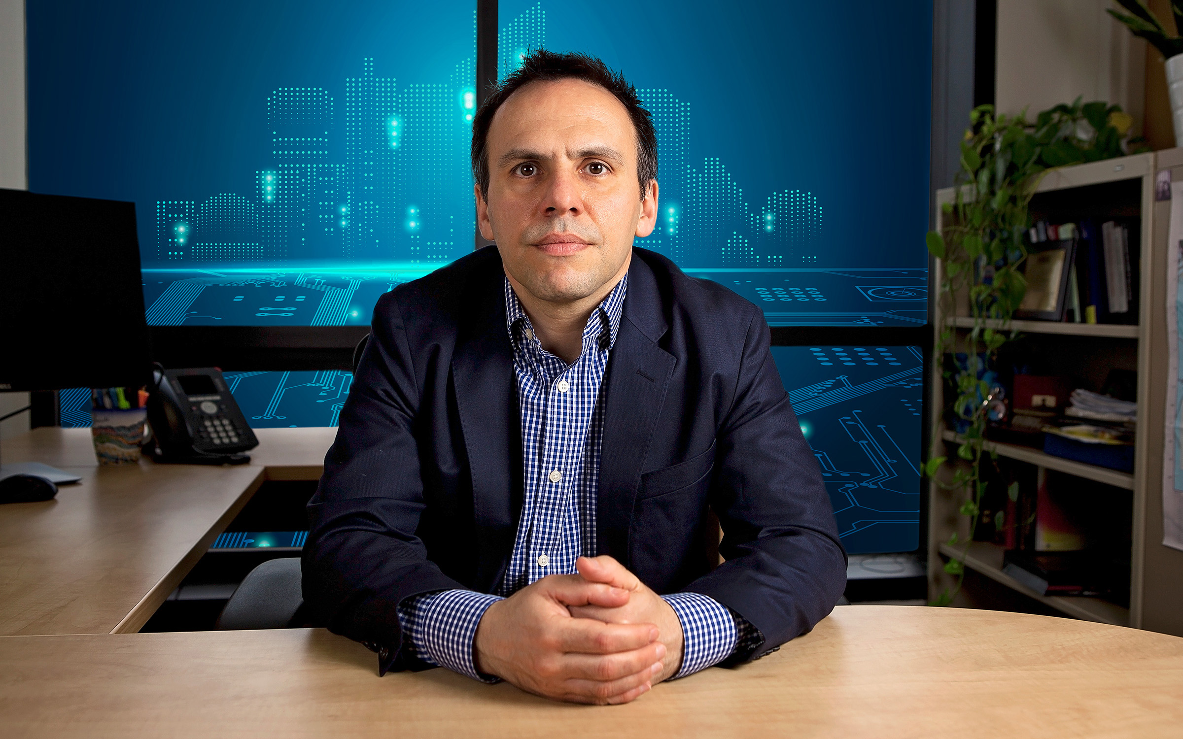 Vassilis Kekatos Receives Award to Diagnose Power Grid