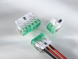 Push-In Connectors Allow For Easy Wire Termination