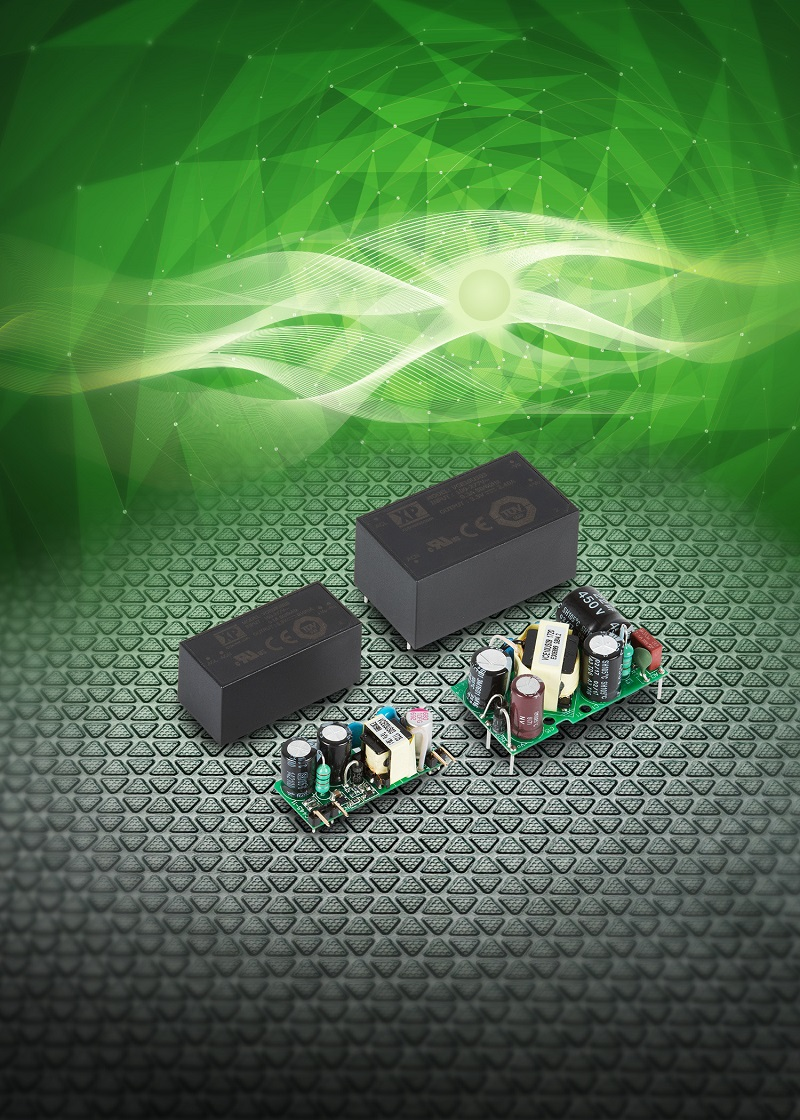 Compact 3W and 10W board-mount power supplies