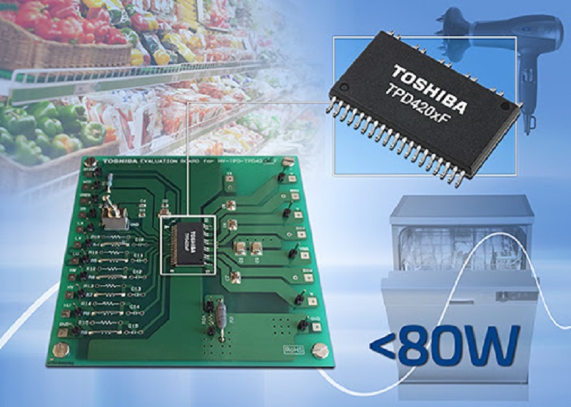 New evaluation board for three-phase BLDC motor drive ICs