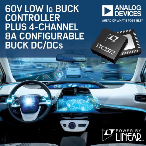 Low IQ Buck Controller for Battery-Powered Applications