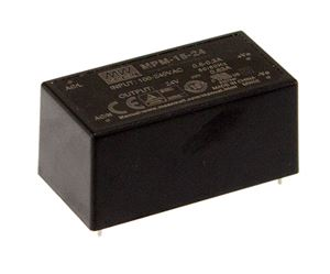 AC-DC Power Supply Offers Wide Operating Temperature