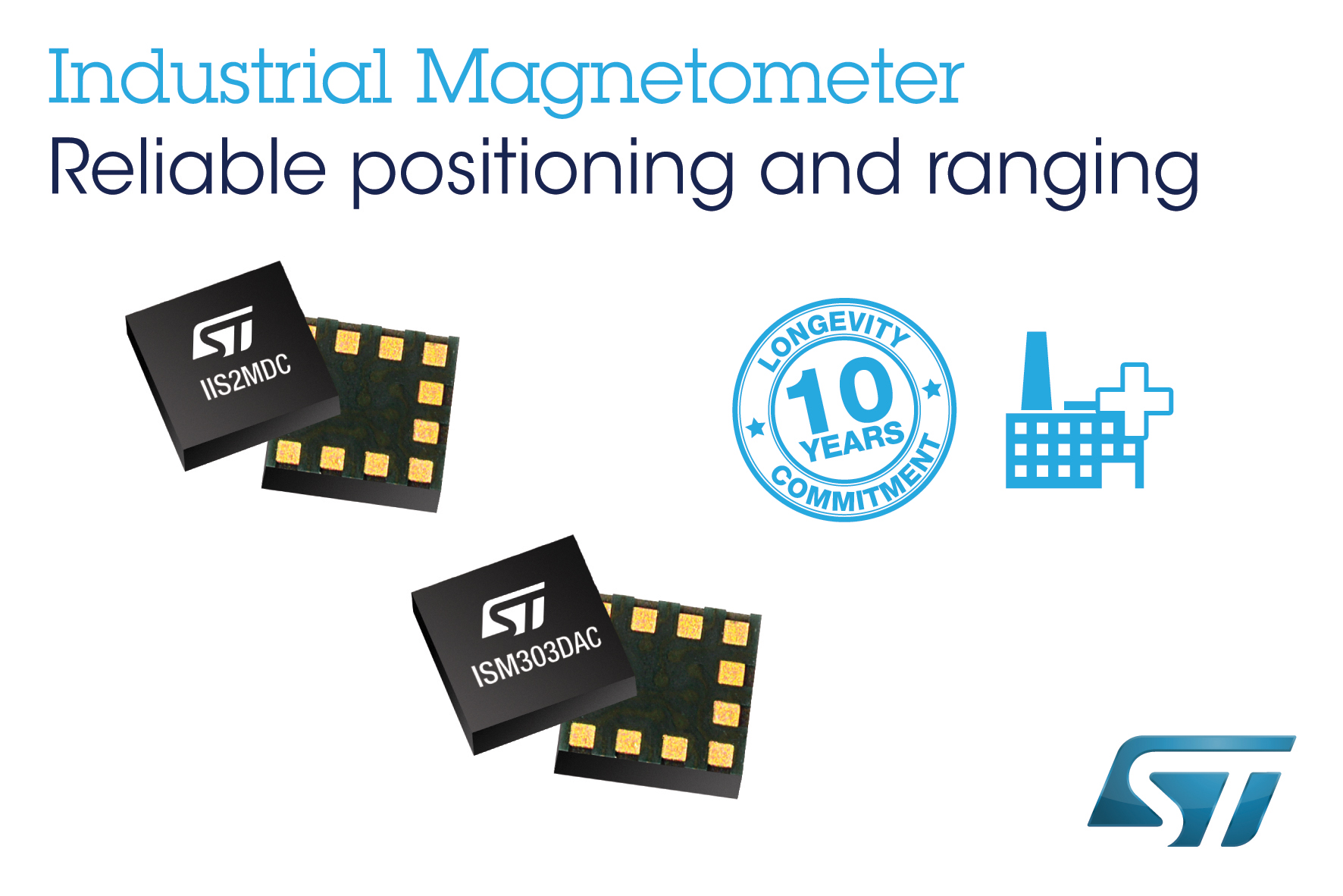 Industrial Magnetometer and eCompass for Precision Motion Sensing