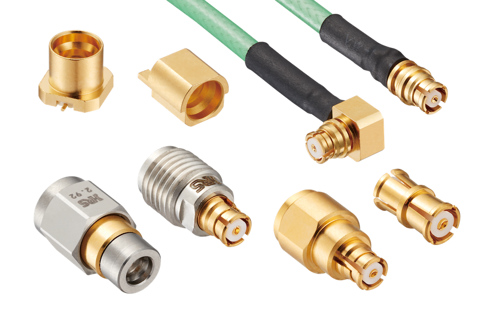 Miniature Coaxial Connector Offered With 40GHZ SMP Interface