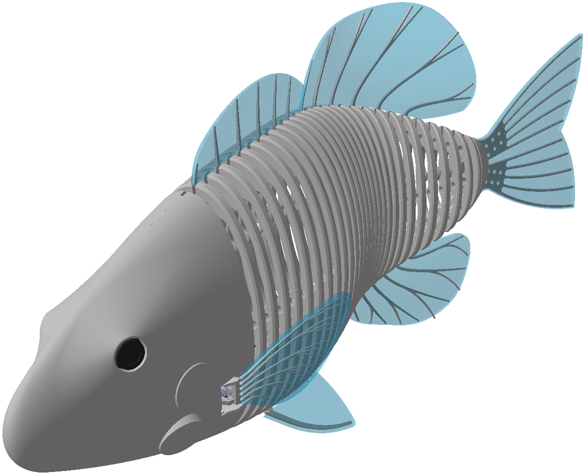 PSDcast - A 3D-Printed Robotic Fish