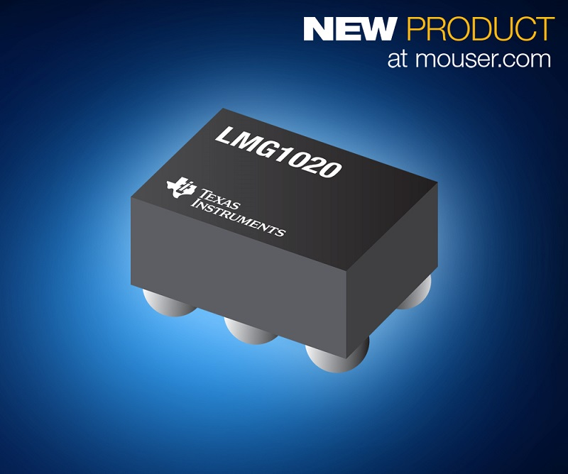 TIs' LMG1020 low-side GaN driver now shipping from Mouser