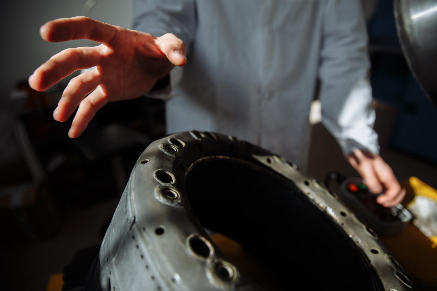 A Serial Gas Turbine Engine With a 3D-Printed Combustion Chamber