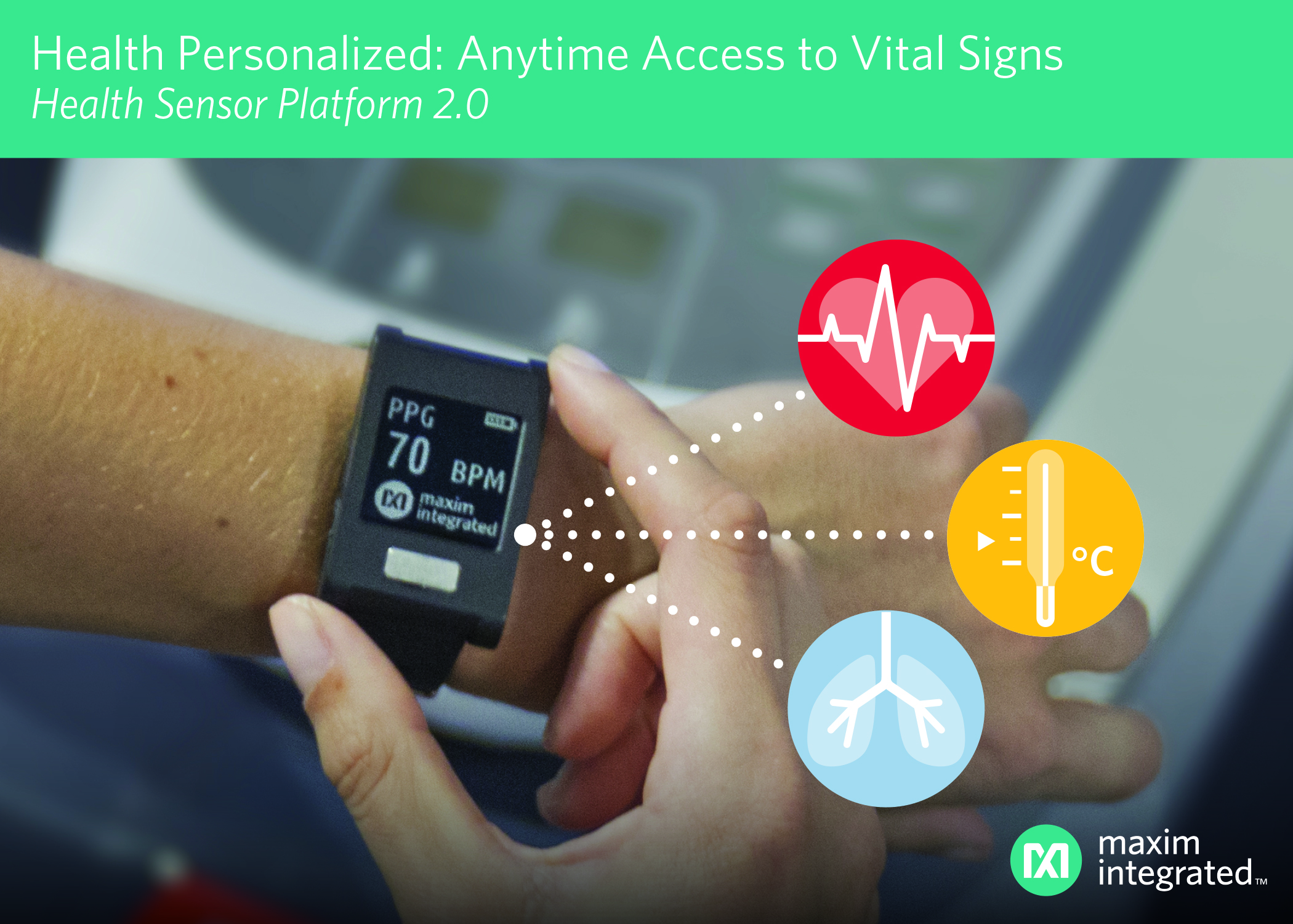Sensor Platform for Monitoring ECG, Heart Rate and Temperature
