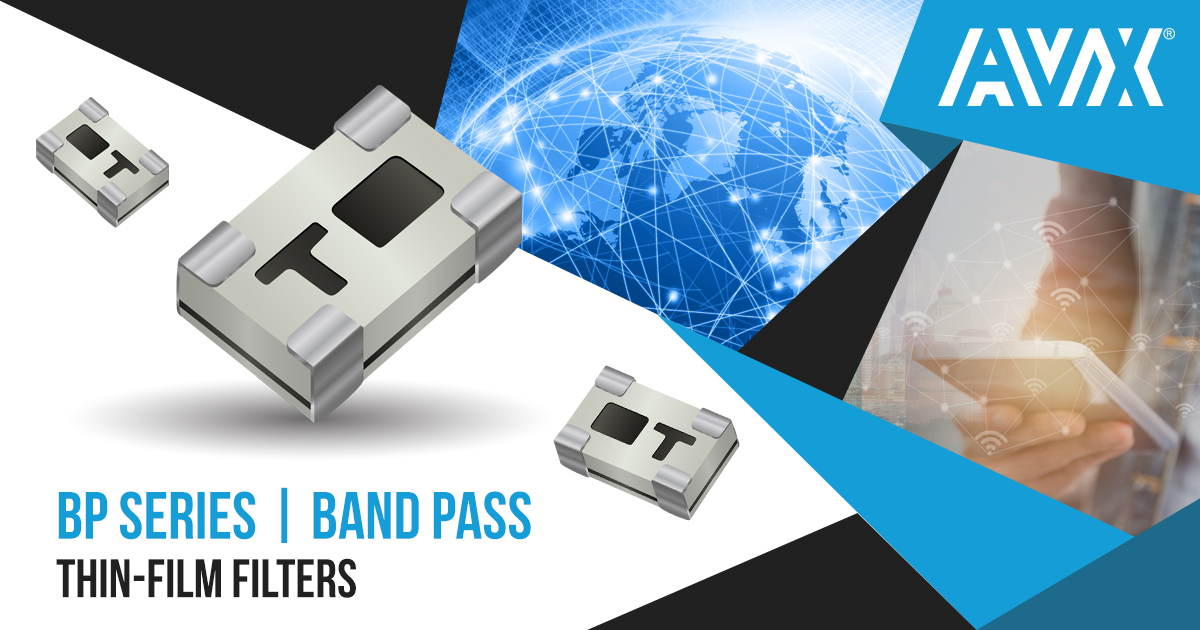 High-Frequency Integrated Thin Film Band-Pass Filters