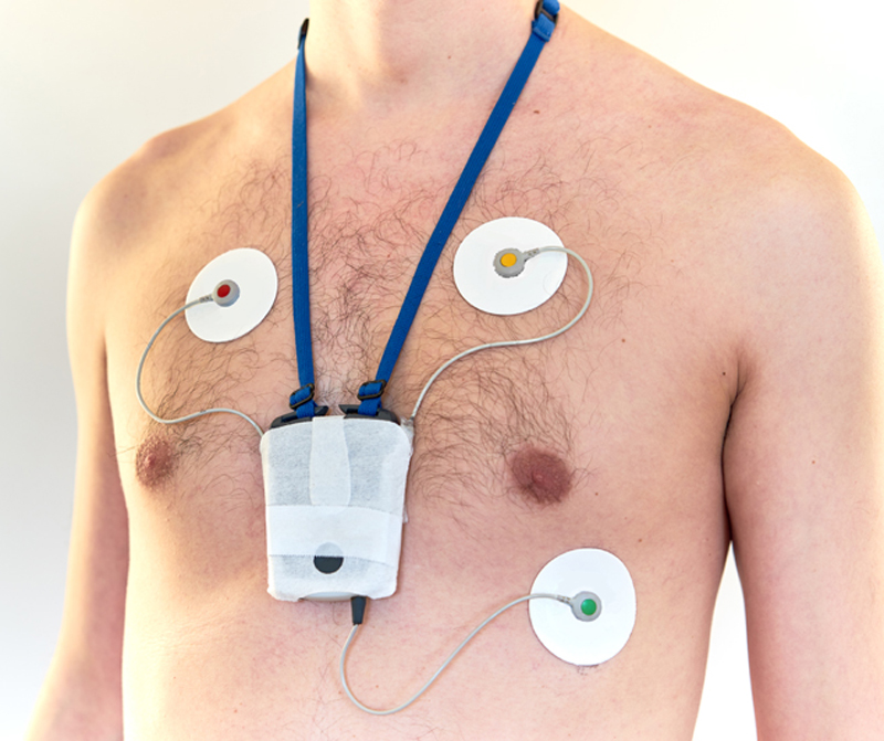 Wearable ECG Monitor is a Weight Off Your Chest