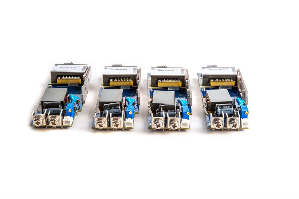 New Convection-Cooled Modular Configurable Power Supplies