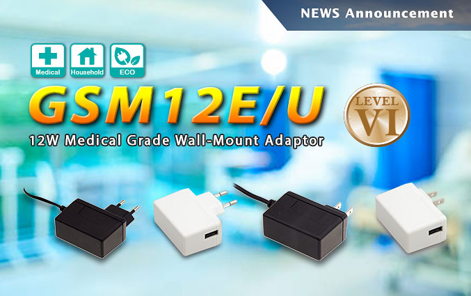 Wall-Mount Adaptors Include AC Plug Options