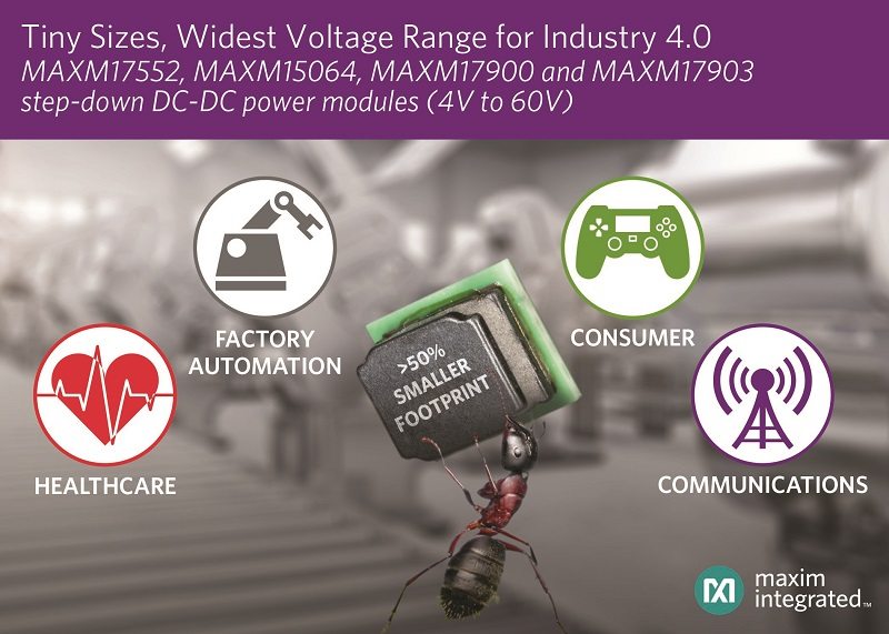Wide Voltage Range and Small Footprint DC-DC uSLIC modules