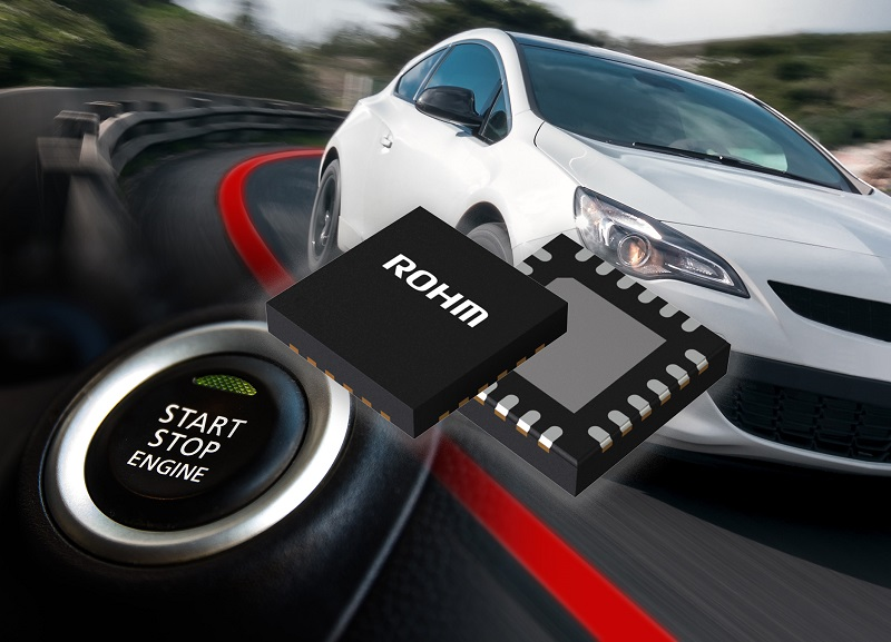 Automotive-Grade Buck-Boost Power Supply Chipset
