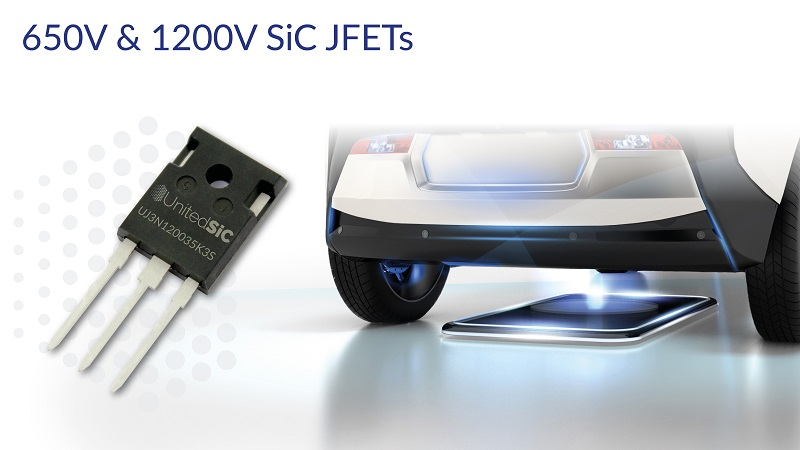 UnitedSiC expands SiC JFET portfolio with Gen-3 1200 V and 650 V options