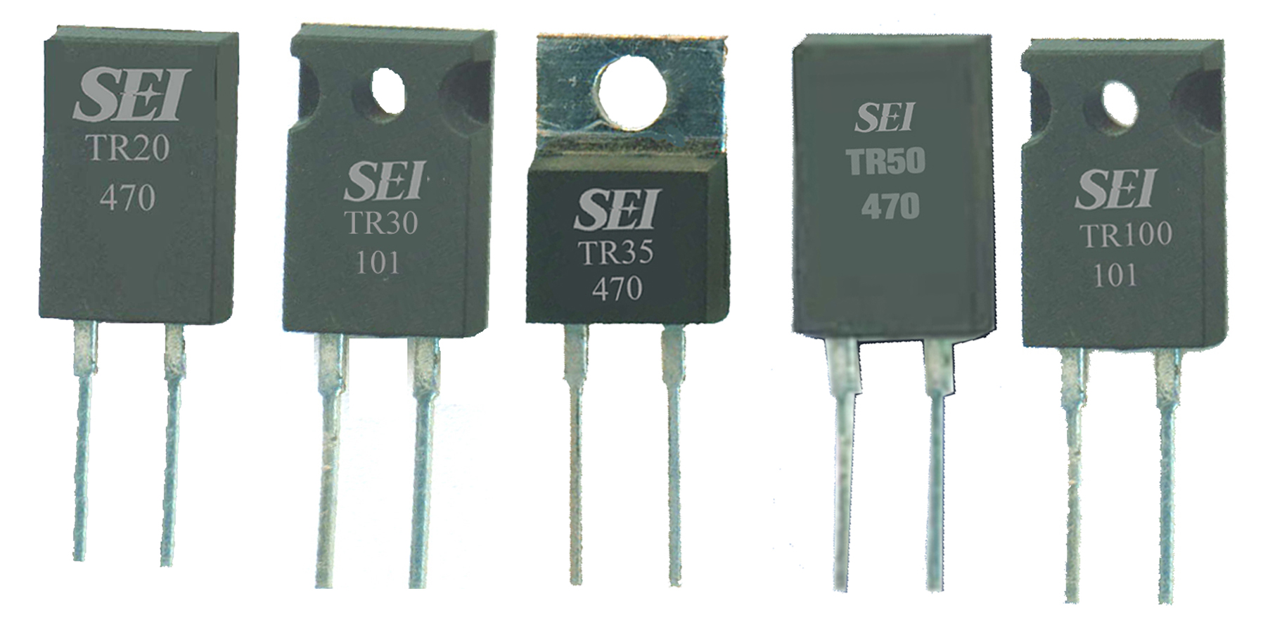 Power Resistors Offer up to 100W