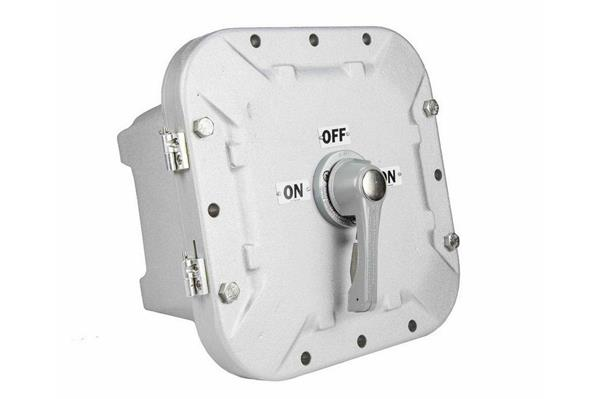 15 Amp Rated Explosion Proof Non-Fused Disconnect Switch