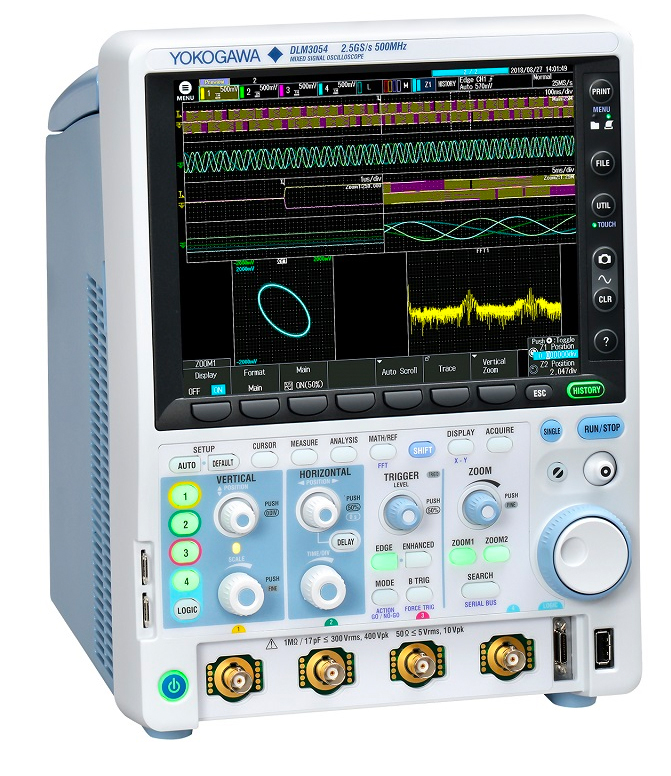 Yokogawa launches next generation Mixed Signal Oscilloscope