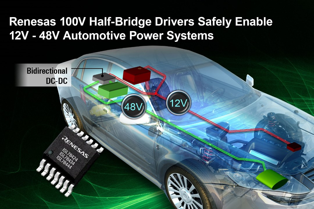 Half-Bridge Drivers for Bidirectional Controller
