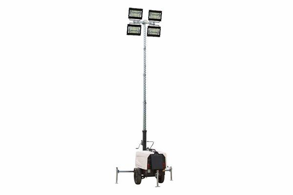 A Mobile-Adjustable 4000-Watt LED Light Plant Package