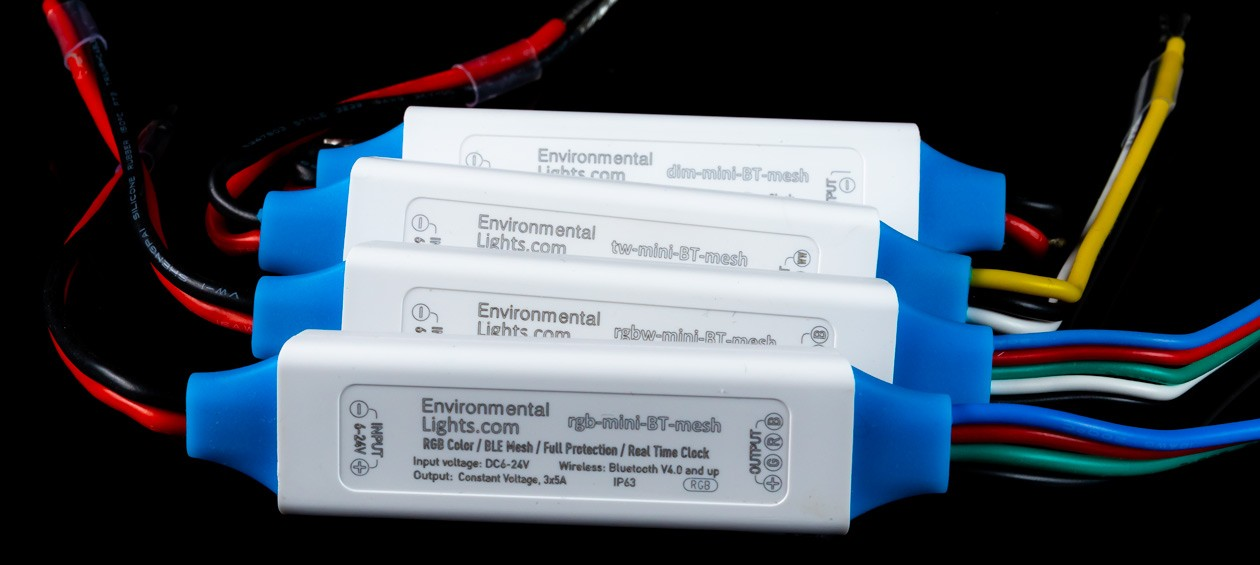Controllers Provide Enhanced Wireless LED Lighting Control