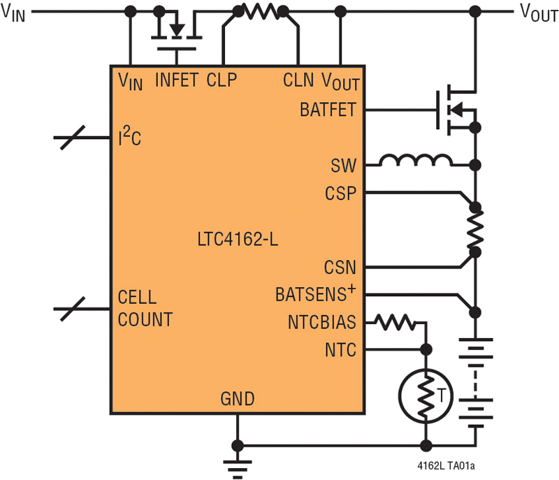 Simple Battery Charger ICs for Any Chemistry