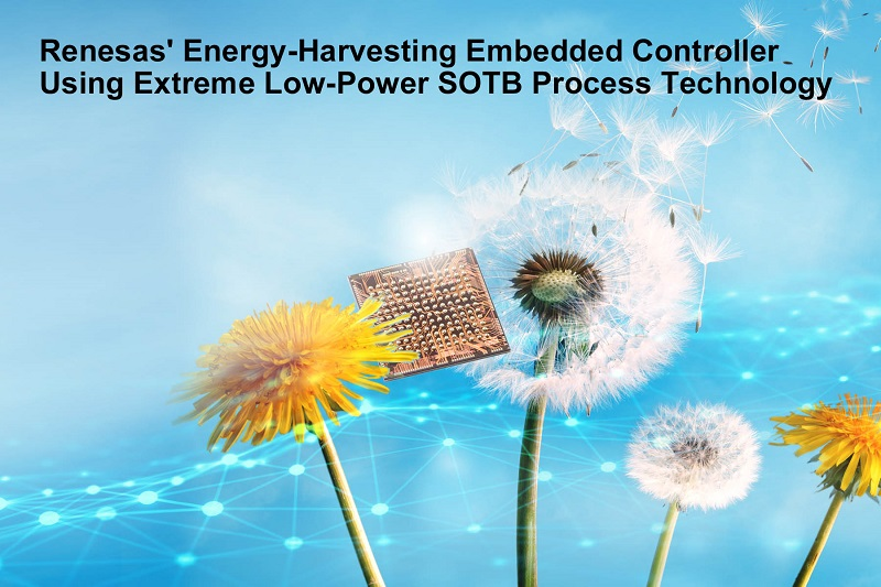 Low-Power SOTB Process Technology Eliminates Batteries